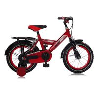 "Mickeybike - Vélo Garçon 12"" Torpédo Rouge 2016"