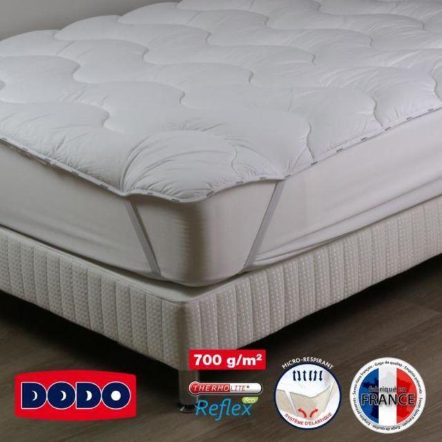dodo majestique surmatelas surconfort 90 x 190 cm 100 polyester thermolite 1 personne. Black Bedroom Furniture Sets. Home Design Ideas
