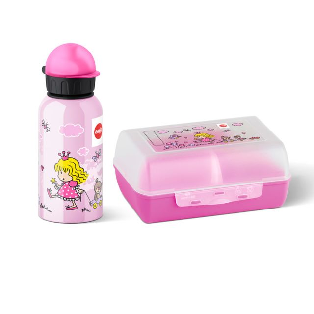 EMSA SET GOURDE ET CLIPBOX PRINCESS KIDS