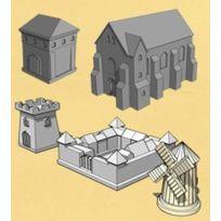 Asyncron Games - Jeux de société - Fief Edition 2014 : Pack de Batiments