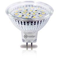 Provence Outillage - Ampoule led spot mr16 4,6w blanc chaud