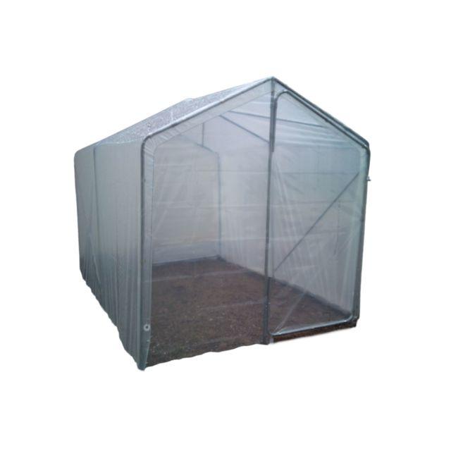 chalet jardin serre tunnel 200 x 450 x 150 200 cm 9 m pas cher achat vente serres en. Black Bedroom Furniture Sets. Home Design Ideas