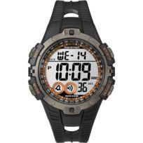 Timex - Montre Homme Marathon Chrono Résine Noir T5K8014E Sport