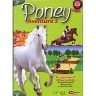 Hobbytech - Poney Aventure 3 - Jeu Pc