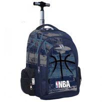 Nba Basket Usa - Cartable à roulettes Nba Basket 45 Cm Black Ball Haut de gamme