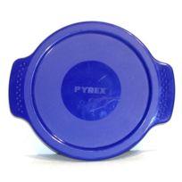 Pyrex - Couvercle plastique bleu pour cocotte 1Litre
