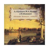 Melodiya - Alabiev : Ouverture et Quatuor pour 4 flûtes - Mozart : Rondeau de Concert