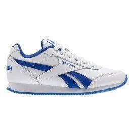 28a5ff4af5be0 Reebok Classic - Baskets Reebok Royal Classic Jogger 2 blanc bleu enfant