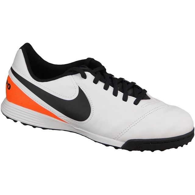 separation shoes 00921 20498 Nike - Nike Kids Tiempo Legend Vi Tf Jr 819191-108 Blanc