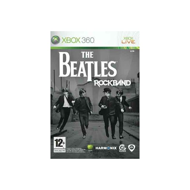 Console Xbox 360 Carrefour: The Beatles Rock Band Pour Xbox 360