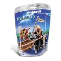 PLAYMOBIL - Piste de joute du chevalier Cheval ardent - 5357