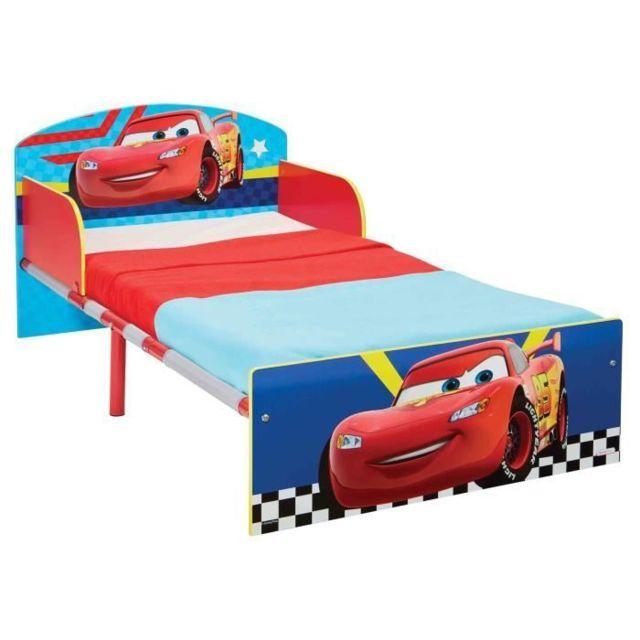 Structure De Lit Cars Lit Pour Enfants Pour Matelas 140cm X 70 Cm Pas Cher Achat Vente Cadre De Lit Rueducommerce