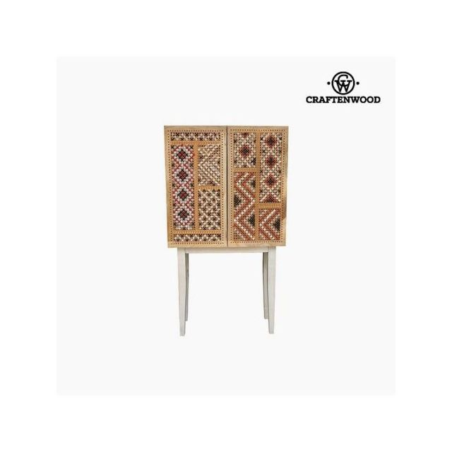 Craften Wood Console Bois de manguier 76 x 30 x 140 cm Poetic Collection by Craftenwood