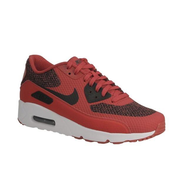 4a8703aea36371 Marque Generique - Nike Air Max 90 Ultra 2.0 Essential 875695 604  university red black white