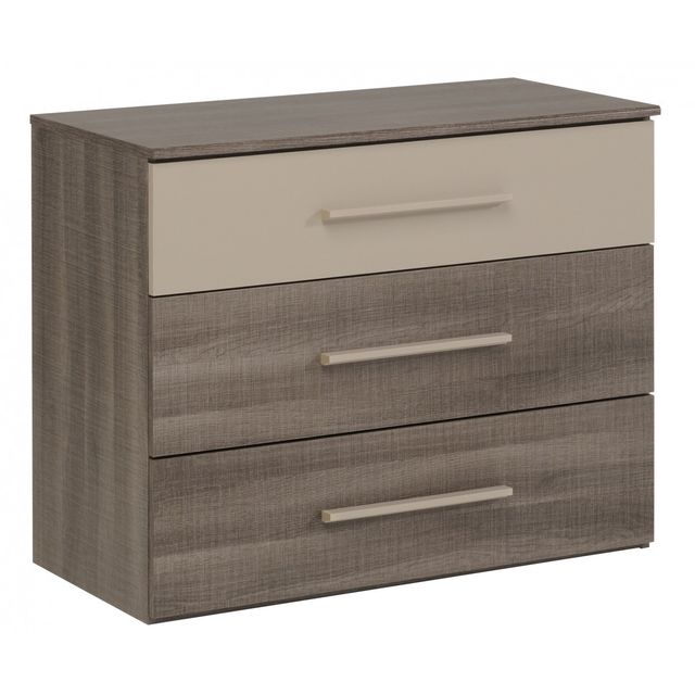 Altobuy Rixk - Commode 3 Tiroirs