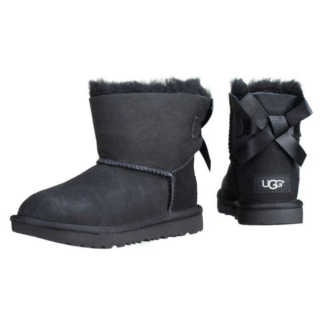e10fc55251463 Ugg Australia - T Mini Bailey Bow 2 1017397t T   Black. Couleur   Noir