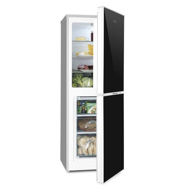KLARSTEIN Luminance Frost Combi Réfrigérateur congélateur 98L/52L - Classe A