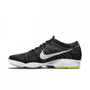 Nike Flyknit Zoom Agility - Ref. 698616-001 Noir - Chaussures Baskets basses Femme