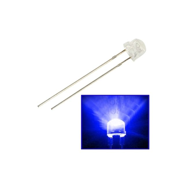 wewoo - led perle lampe de chapeau de paille lumière bleue 1000 pcs