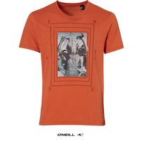 O'NEILL - Tee shirt col rond rouge orange Discovery 502340 2525