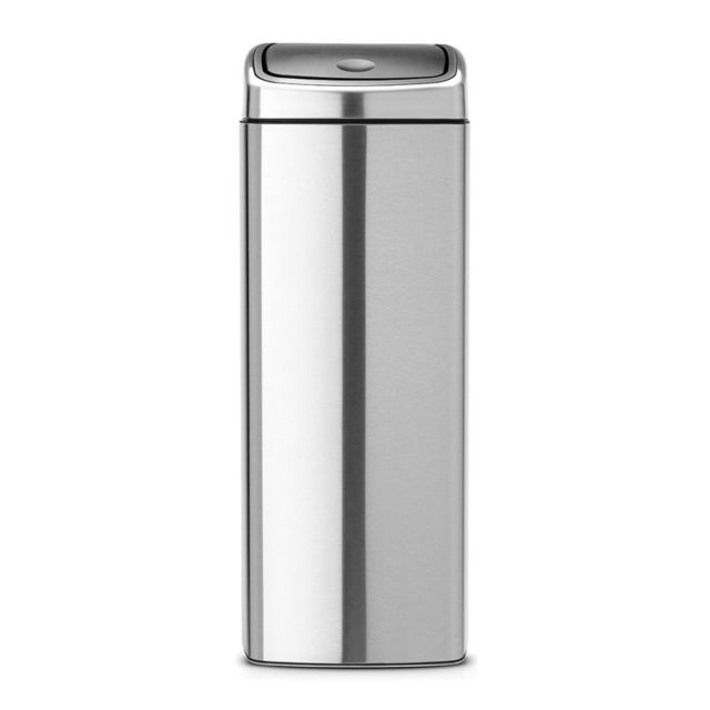 Brabantia Poubelle Touch Bin®, 25 litres - Matt Steel Fingerprint Proof