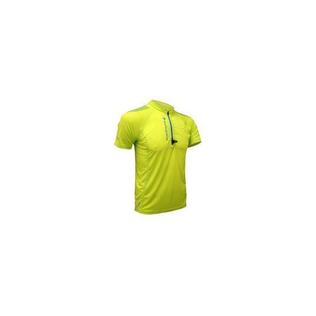 Raidlight T Bleu Anis Vert Courtes Shirt Run Manches Active Pas 11dvwxSqr4