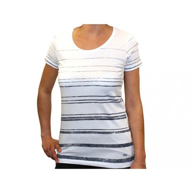 Tbs - Bratee Mar - Tee shirt Femme Multicouleur
