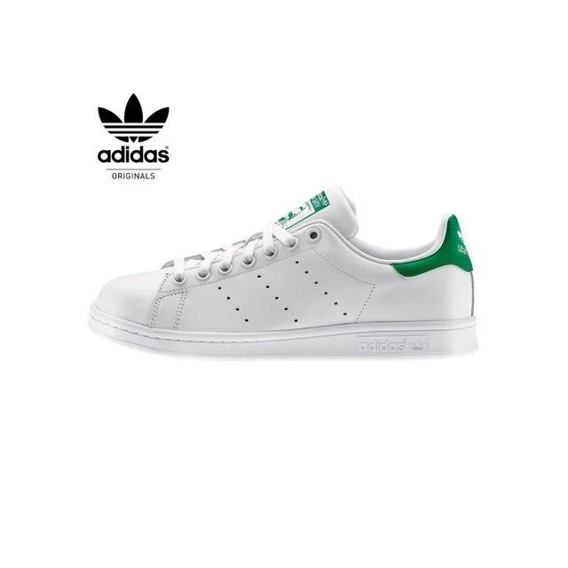 Adidas originals - Stan Smith M20324 Blanc/ Vert-stan smith ...