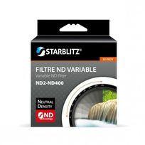 Starblitz - Filtre densité neutre variable Nd2-ND400 77mm