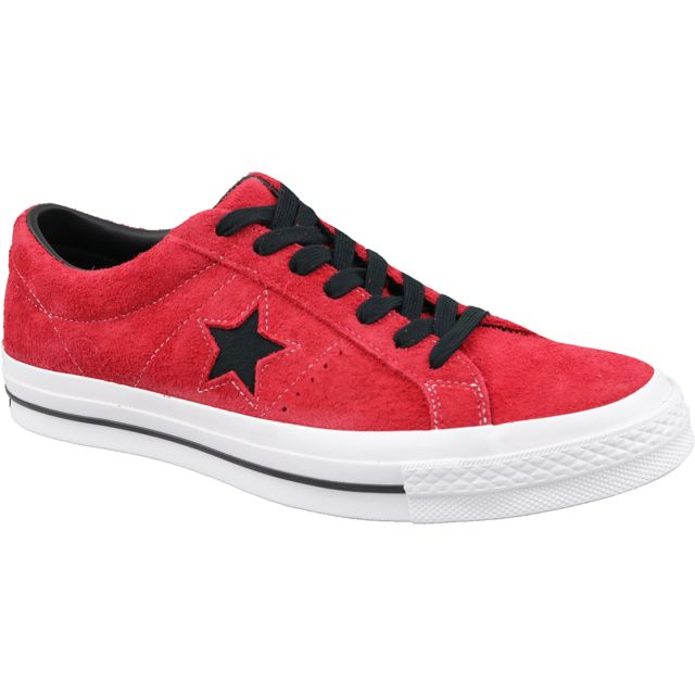 converse one star rouge