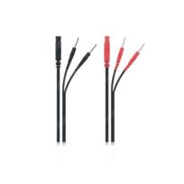 Globus - Electrostimulation - 2 Câbles raccords bifurcateurs