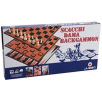 Juego - Ju01017 - Jeu D'ÉCHECS, Jeu De Dames Et Backgammon