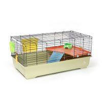 Animalis - Cage Équipée pour Lapin - 100x54,5x45cm