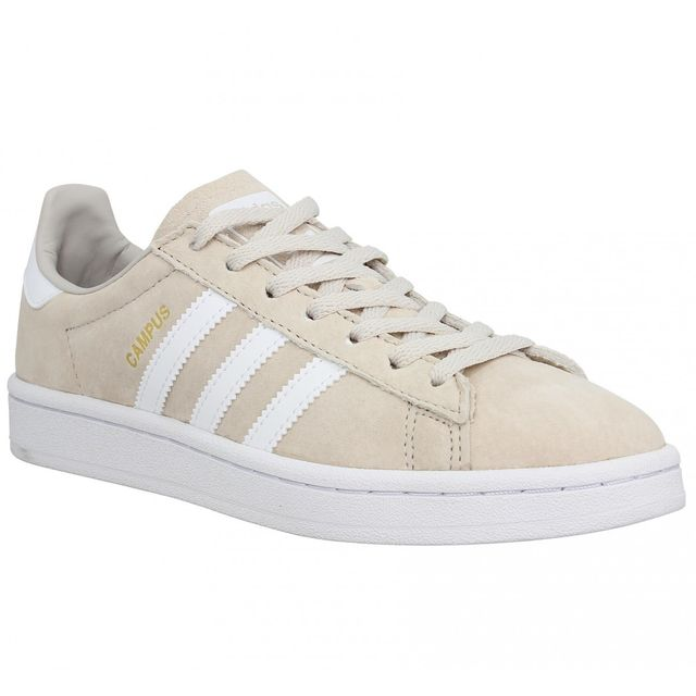 best shoes sale retailer where to buy Adidas - Campus velours Femme-38 2/3-Marron clair - pas cher ...