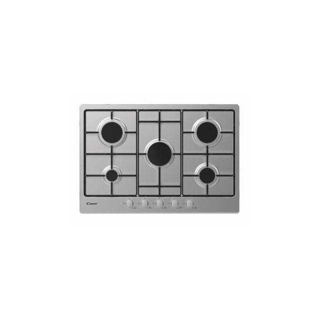 Candy Chw7x - Table Gaz - 5 Foyers - 11250w - Inox