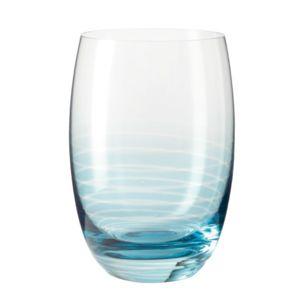 leonardo verres eau avec fond color et rayures lot de 6 cheers pas cher achat vente. Black Bedroom Furniture Sets. Home Design Ideas
