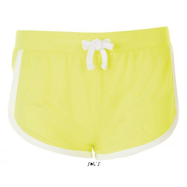 SOL'S short de plage Femme - 01697 - jaune fluo