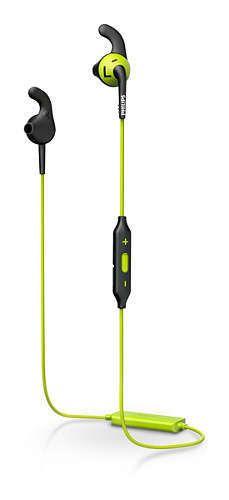 PHILIPS - Ecouteurs intra-auriculaires sport Bluetooth Jaune - PHI-SHQ6500CL-ECT-SPT-BT-CAR
