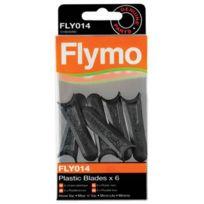 Flymo - Lames en plastique Fly014 pour tondeuse Micro Lite
