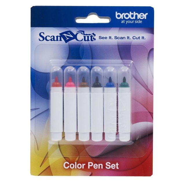 BROTHER ScanNCut CM840 CM600 Kit stylos couleur