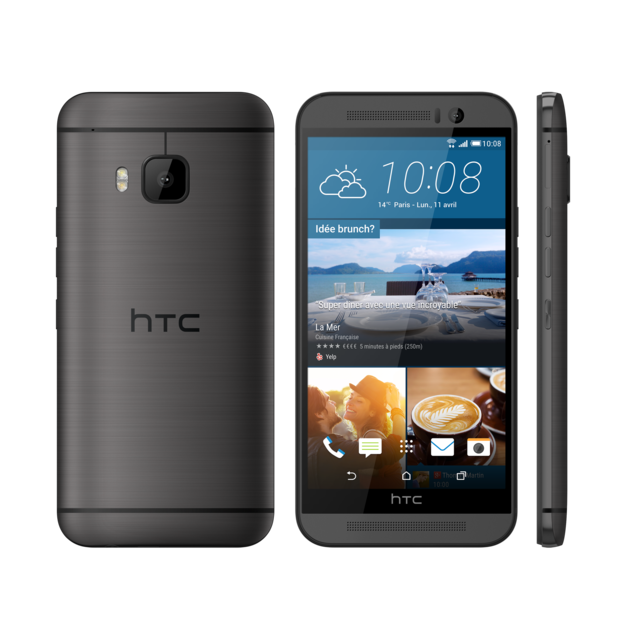 HTC - One M9 Photo Edition Gris