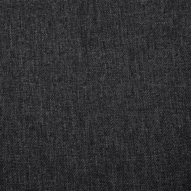 Icaverne - Fauteuils famille Fauteuil avec pieds en chrome Gris foncé Tissu