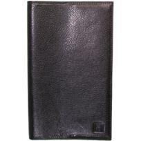 Hexagona - Porte-cartes cuir ref_xga40931 noir