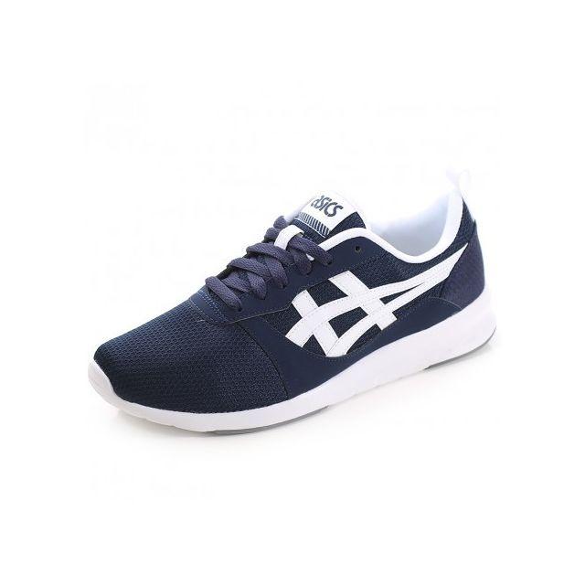 dc7ceeae2b6e Asics - Chaussures Lyte Jogger Bleu Homme - pas cher Achat / Vente ...