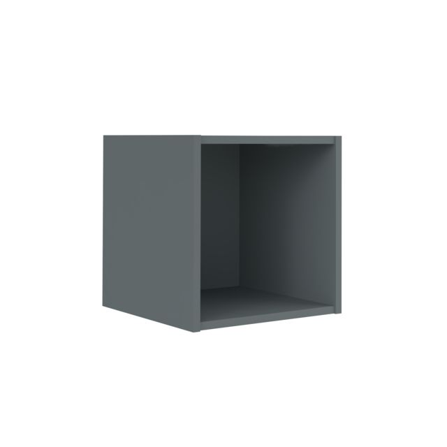 Ik Idkid\'S - Etagere Cube 1 Case - Gris anthracite - pas cher Achat ...