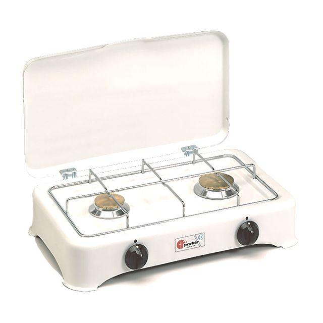 PARKER réchaud gaz 2 feux - 5326c