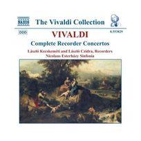 Naxos - Vivaldi - Intégrale des concertos pour flûte à bec