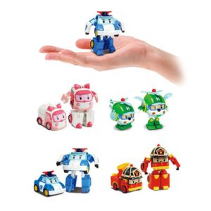 silverlit poli figurine transformable robocar poli 8 cm pas cher achat vente le grand. Black Bedroom Furniture Sets. Home Design Ideas