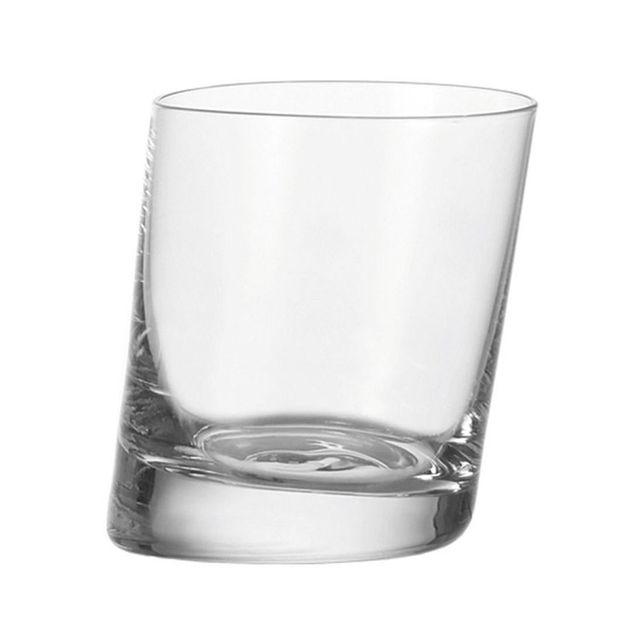 Leonardo Verre à whisky transparent en verre - 30 cl - Coffret de 6 Pise