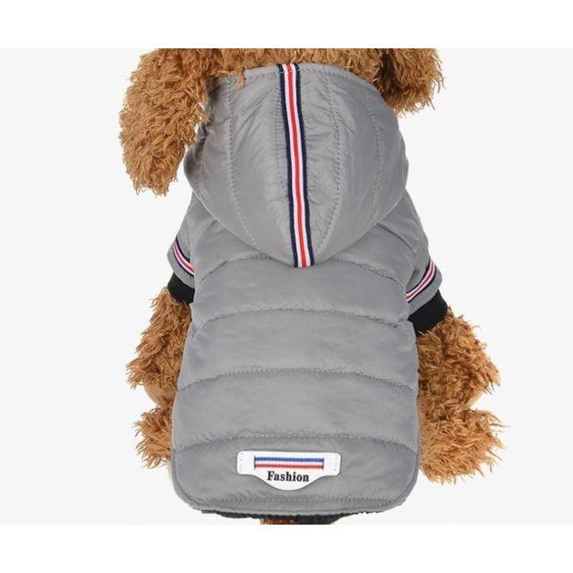 Wewoo Vêtements pour chien de compagnie d'hiver Warm Down Jacket Imperméable Manteau Hoodies Chihuahua petit chiot moyen chien